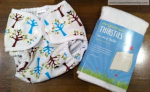 Thirsties Giveaway from One Smiley Monkey